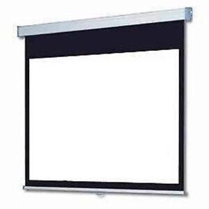 Schermo-telo-proiezione-PRO-cinema-200-x-150-motorizzato-con-telecomando