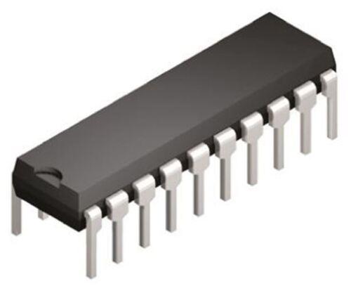 10Msps 2-channel 8 bit Parallel DAC 20-Pin PDIP Texas Instruments TLC7528CN