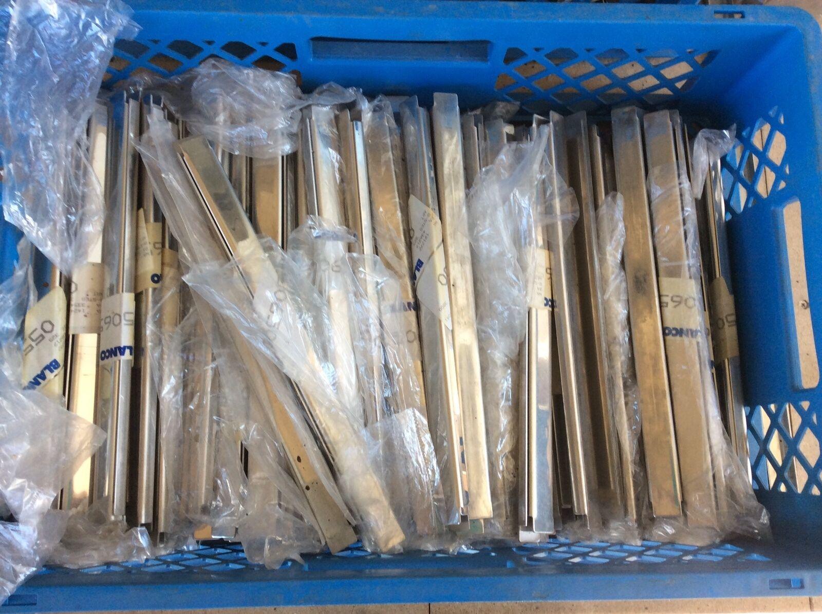 Artículos de 74 Par GN Placa de tiraje máquinas U 1 1GN 32,5 x 2cm de blancoo