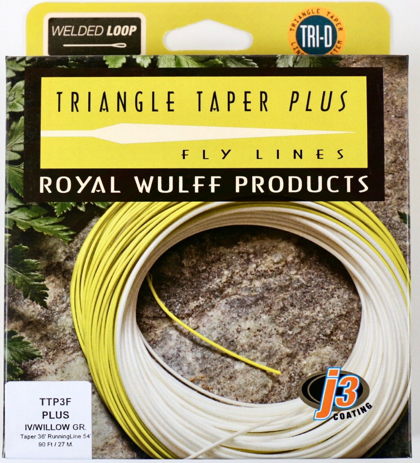Royal Wulff Triangle Taper Plus 3 WT Floating Fly Line  Free Fast Shipping TTP3F  online shop
