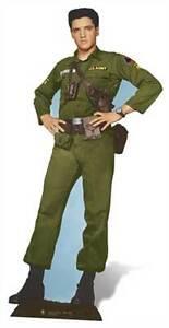 Elvis-Presley-Army-Days-uniform-LIFESIZE-CARDBOARD-CUTOUT-standee-standup-King