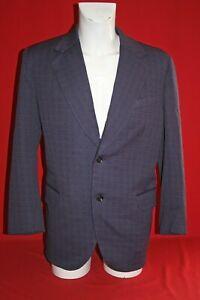 Origin.1960/70er Kult Anzug Jacke Sakko Jacket Präsent 20 Grisuten Muster Gr.54