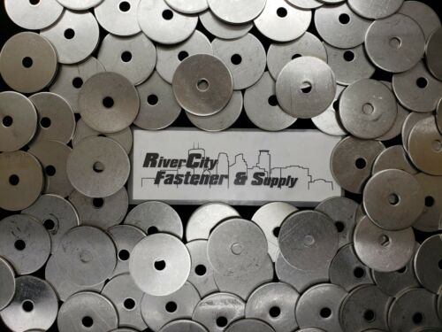 """Extra thick Heavy Duty Stainless Fender Washers 1//2/"""" x 3 /"""" Large OD 1//2x3 5"""