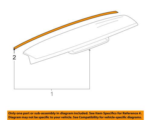 GM OEM-Spoiler Seal 15270012
