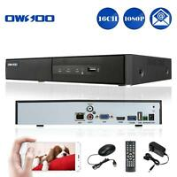 OWSOO 16CH 1080P H.264 NVR Network Video Recorder for CCTV Security Camera Y4G7