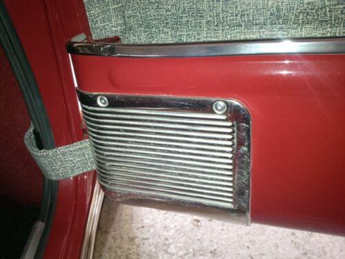 Plaque coup de pied 16 Mini Mk1 Austin rivets Morris aluminium mark1 Classic Mini fastner