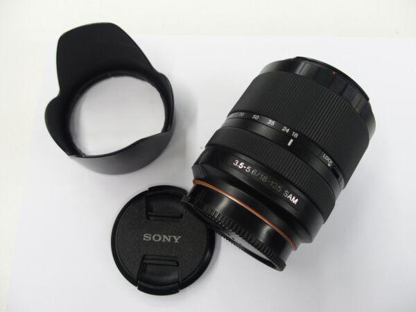Intelligent Sony Dt 18-135 Mm Sam Objectivement Pour Sony A-mount Caméras D'occasion