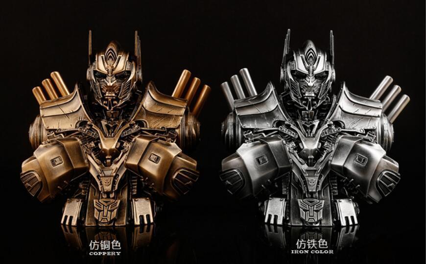 """Transformers Autobots Optimus Prime résine statue buste Model Figure 2 Couleurs 7""""H"""