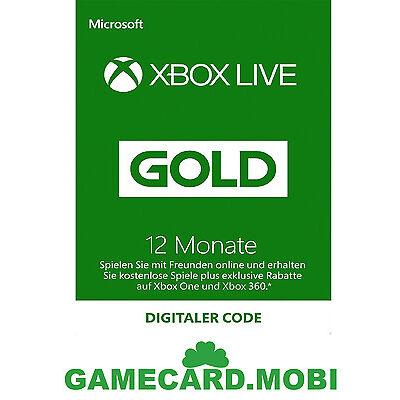 ?? TARJETA PREPAGO XBOX 360/ONE LIVE GOLD 12 MESES CODIGO SUSCRIPCION ES ??