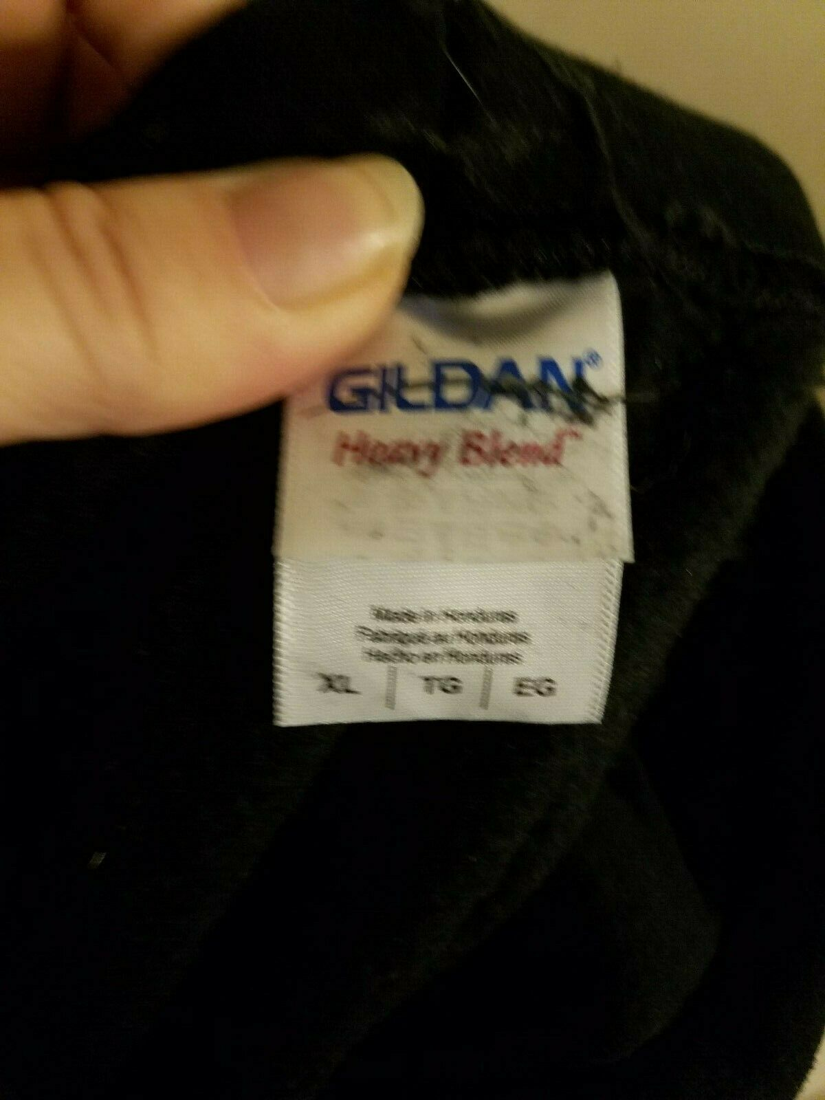 Gildan Womens XL Black Hoodie Sweatshirt Unique … - image 6