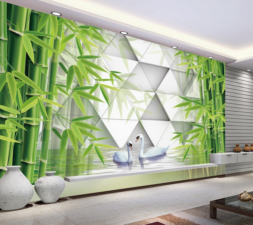 3D Bamboo 4140 Wallpaper Murals Wall Print Wallpaper Mural AJ WALL UK Carly