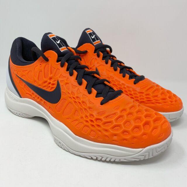 Nike Air Zoom Cage 3 Hard Court HC Rafa Nadal Tennis Orange Size 9