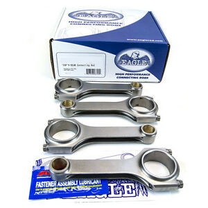 EAGLE-MAZDASPEED3-MS3-MS6-2-3L-TURBO-FORGED-H-BEAM-CONNECTING-RODS-22-5MM-PIN