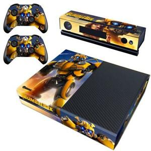 Video Games & Consoles Bumblebee Transformers Vinyl Skins Decals Stickers Xbox One S Slim Consoles Wrap