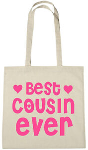 Image Is Loading Best Cousin Ever Bag Gift Ideas Xmas Christmas