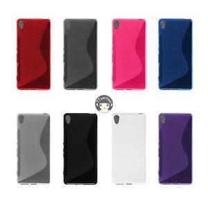S-Line-TPU-Soft-Gel-Cover-Case-Skin-For-Sony-Xperia-XA-F3111-F3112-F3113-F3115