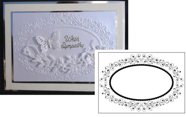 Oval Frame 1 HSF004 Embossing Folder by Nellie Snellen | eBay