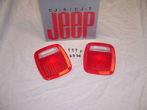Jeep-CJ-CJ-Laredo-cj-tail-lights-Cj-lens-CJ-NOS