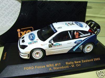 FORD FOCUS WRC Salie Warmbold IXO RAM189  1 43