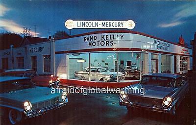 Ford Dealership Columbus Ohio >> Photo 1950s. Stamford, CT. Rand Kelley Motors, Lincoln-Mercury - Auto Dealership   eBay