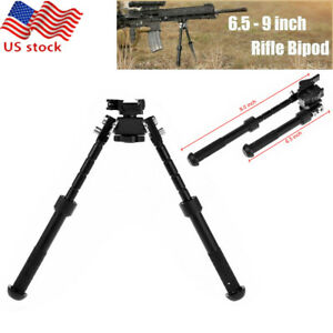 """6.5-9/"""" Tactical Rifle Bipod Adjustable Spring Return 20mm Rail Quick Release US"""