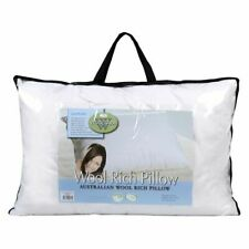 Dorset /& Downs Wool Rich OptiFill Medium Profile Pillow Australian Made