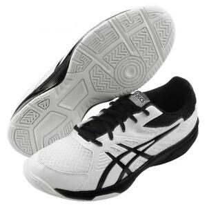 dc49f561ffb ASICS UPCOURT 3 Men's Indoor Shoes Sports Badminton White Court NWT ...
