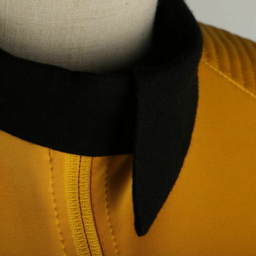 Star Trek Discovery Season 2 Commander Number Ones Female Gold Top Uniform Pin