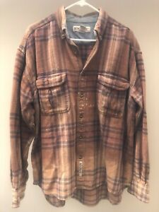 Distressed Flannel with custom design