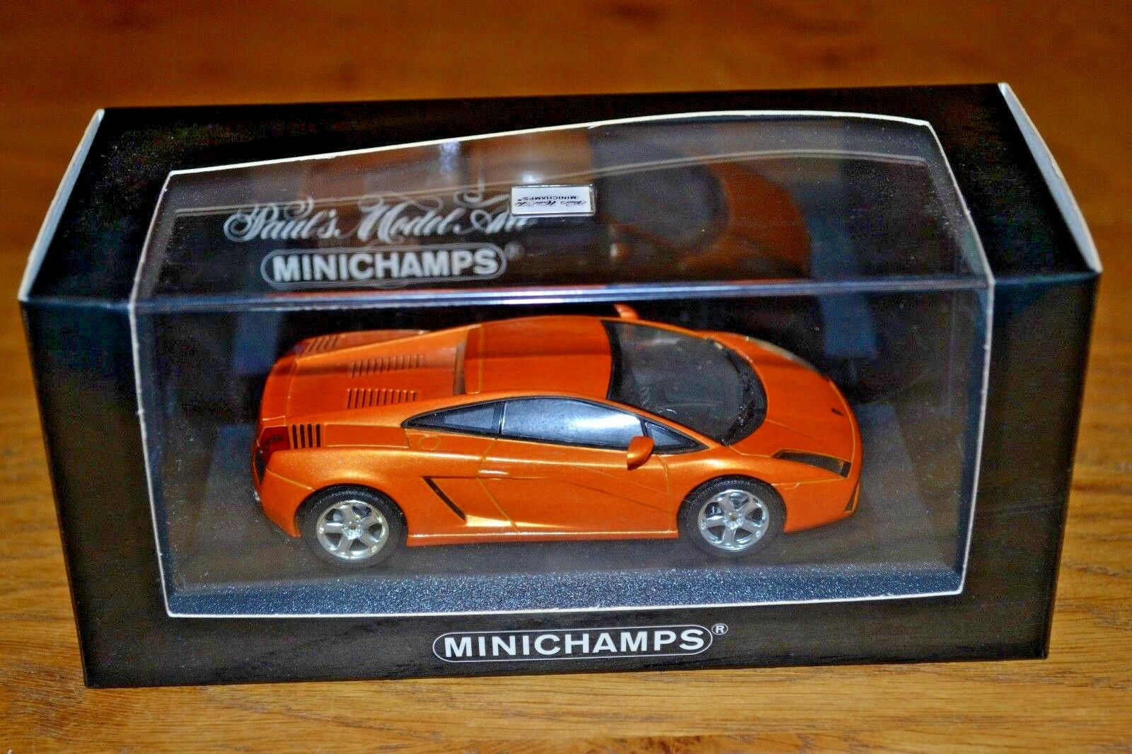 Minichamps 1 43 Lamborghini Gallardo Perfecto Estado
