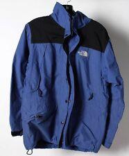Vintage North Face Hyvent Women's Blue Hooded Ski Snowboard Shell Jacket Medium