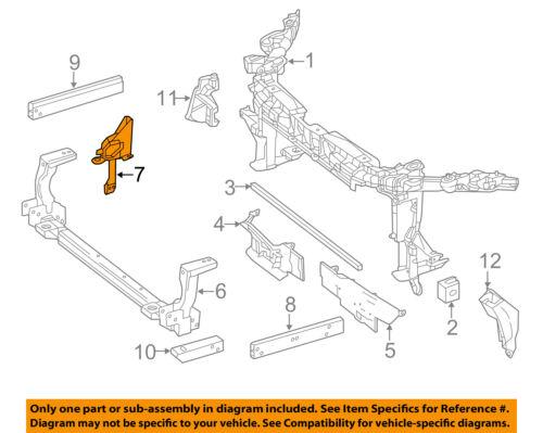 MERCEDES OEM 15-18 GLA250-Radiator Support Upper Support Right 2466210234