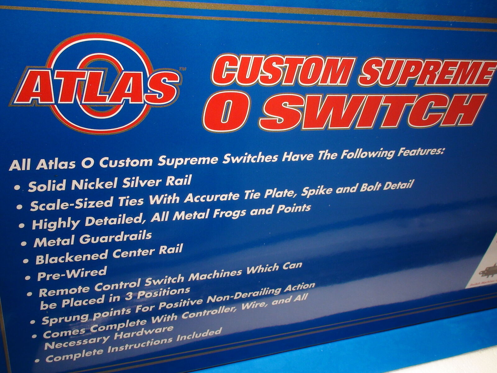 O-SCALE ATLAS  6022 RH TURNOUT  7.5 RIGHT RIGHT RIGHT He 3 RAIL greeDISCOUNTi treni f594b2