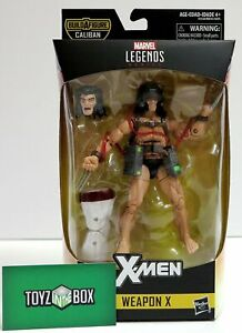"IN STOCK Weapon X Marvel Legends 6/"" X-Men Wave 4 CALIBAN BAF"