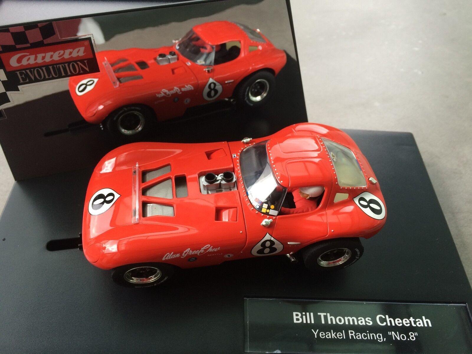autorera Evolution 27413 Bill Thomas Cheetah Yeakel Racing,  No.8   Nuovo Conf.