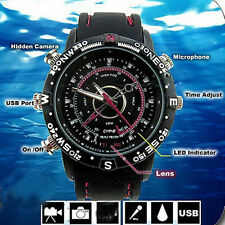 8GB Camcorder Waterproof Watch Camera DVR Video Recorder Cam  Photo Fashion LE