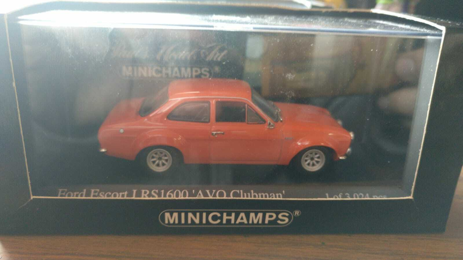 Ford Escort mk1 rs1600 1 43 minichamps
