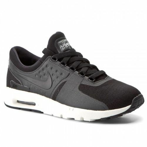 Nike Air Air Nike Max cero UK Talla 5 EUR 38.5 Mujer Zapatillas Zapatos Negro Nuevo 861a7f