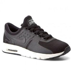 Size Nike Trainers scarpe 38 5 Women's Zero Max 5 Air Eur nero Uk FvqI61