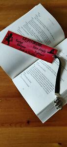 Fougueux Harry Potter Marque Page Bookmark Gryffondor Lion Rouge Idée Cadeau Potterheads Frissons Et Douleurs