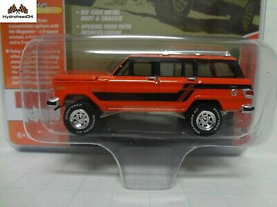 1981 Jeep Wagoneer  Custom Orange ** Johnny Lightning MiJo 1:64 NEU