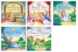 NEW-The-Princess-Parables-Set-of-5-Jeanna-Young-Jacqueline-Johnson-Joy-Damage