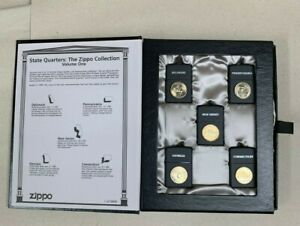 ZiPPO State Quarter Set Limited Edition 5000 Piece Worldwide From 1998