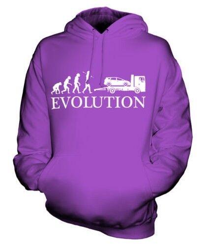 Flachbett Evolution Of Man Unisex Kapuzenpullover Top Geschenk Fahrer Lorry