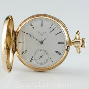 Patek-Philippe-Geneve-Taschenuhr-Anker-chronometer-seltener-Werk-Dekoration-1875