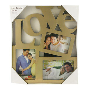 Large Heart Shaped Photo Frame Hanging Multi Picture Love Gift Wall
