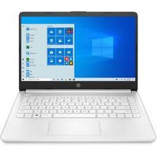 HP 14 Series 14 HD Laptop AMD 3020e 4GB RAM 128GB SSD Snowflake White