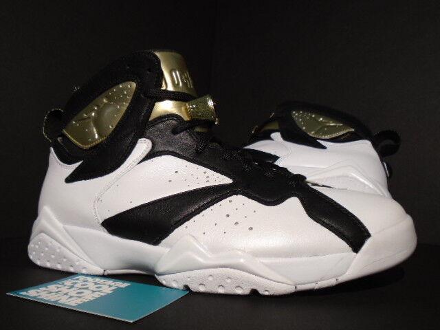 Nike Air Jordan VII 7 Retro C&C CHAMPAGNE CHAMPIONSHIP PACK 8 blanc  Noir GOLD 8 PACK 88ad55