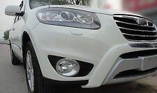 Auto Chrome Fog Light lamp cover Trims For Hyundai santa fe 2010 2011 2012