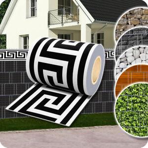 Sichtschutz-Rolle-Zaunfolie-Stabmatten-Zaun-Streifen-Folie-PVC-Sichtschutzfolie